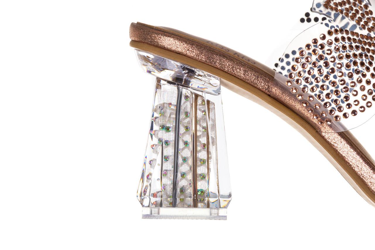 Klapki sca'viola g-57 gold 047173, złoty, silikon - klapki - buty damskie - kobieta 16