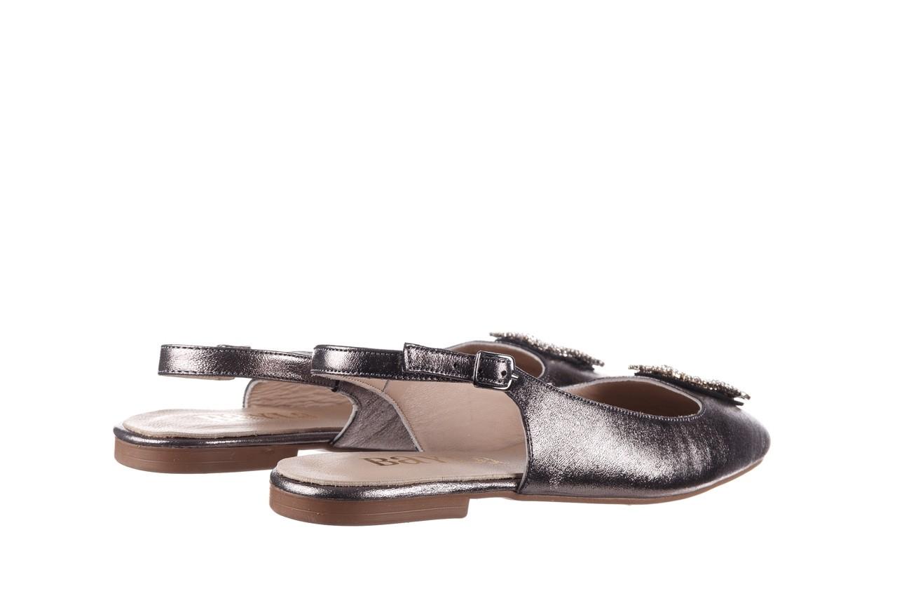 Sandały bayla-161 093 388 4054 platin, srebrny, skóra naturalna - wiosna-lato 2020 11