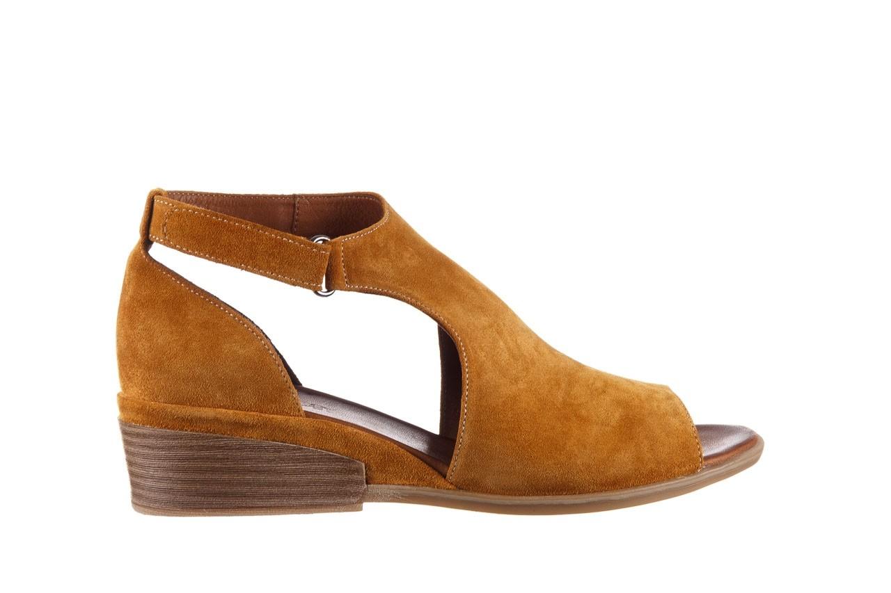 Sandały bayla-161 061 1612 noce suede, żółty, skóra naturalna  - sandały - buty damskie - kobieta 8