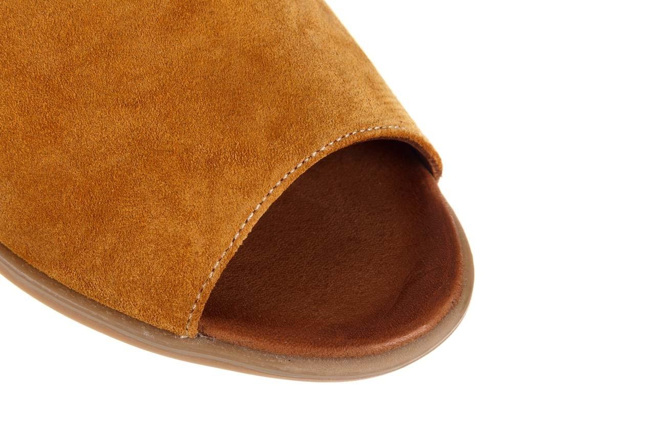 Sandały bayla-161 061 1612 noce suede, żółty, skóra naturalna  - sandały - buty damskie - kobieta 13