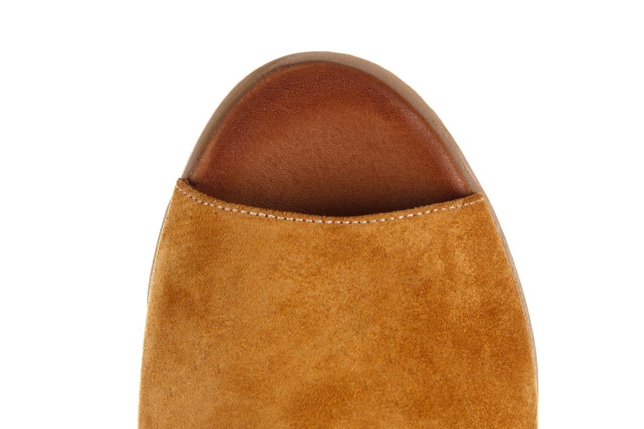 Sandały bayla-161 061 1612 noce suede, żółty, skóra naturalna  - sandały - buty damskie - kobieta 14