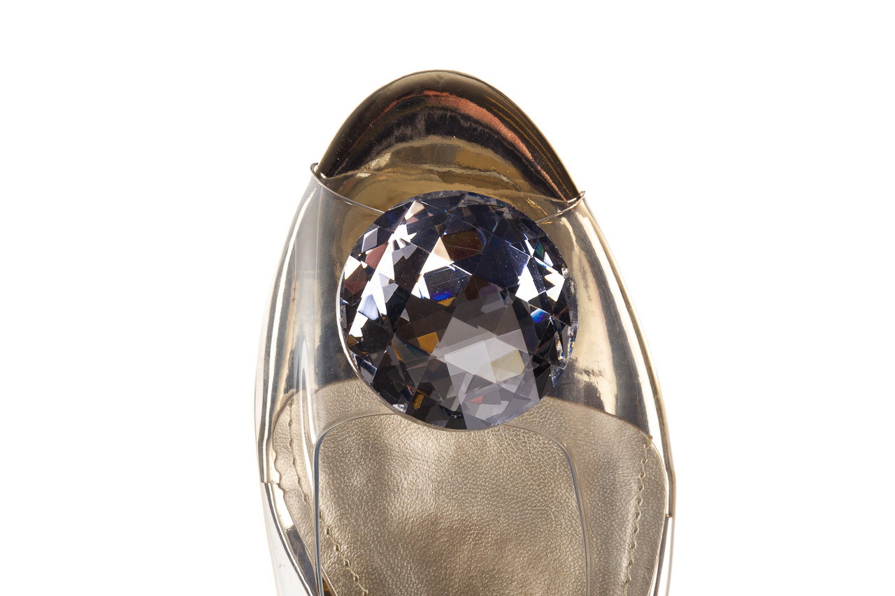 Sandały sca'viola g-15 gold 047168, złoty, silikon - nowości 15