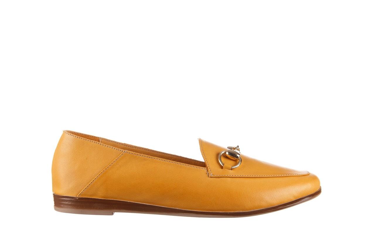 Półbuty bayla-161 138 80127 noce, żółty, skóra naturalna - półbuty - buty damskie - kobieta 8