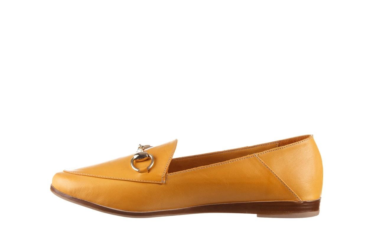 Półbuty bayla-161 138 80127 noce, żółty, skóra naturalna - półbuty - buty damskie - kobieta 10