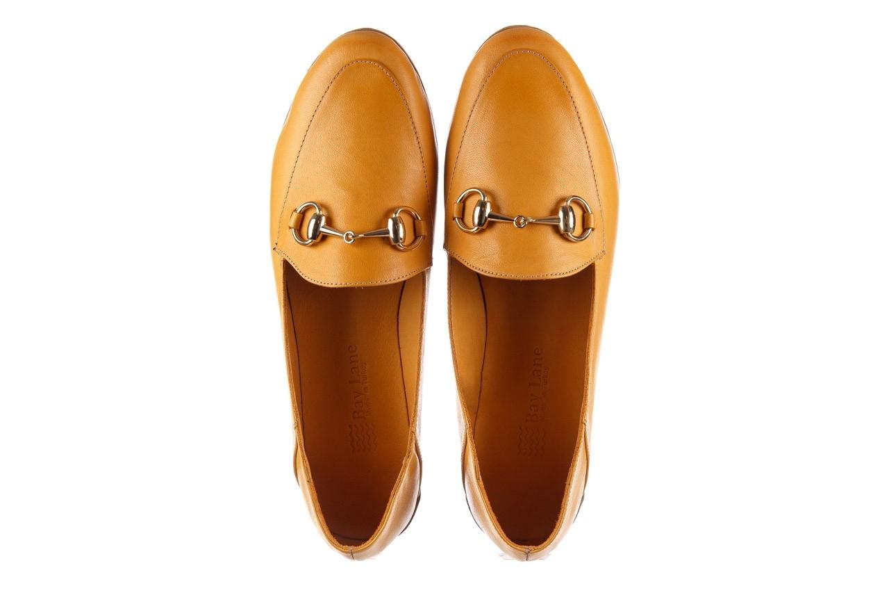 Półbuty bayla-161 138 80127 noce, żółty, skóra naturalna - półbuty - buty damskie - kobieta 12