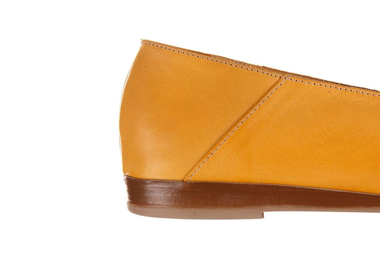Półbuty bayla-161 138 80127 noce, żółty, skóra naturalna - półbuty - buty damskie - kobieta 15