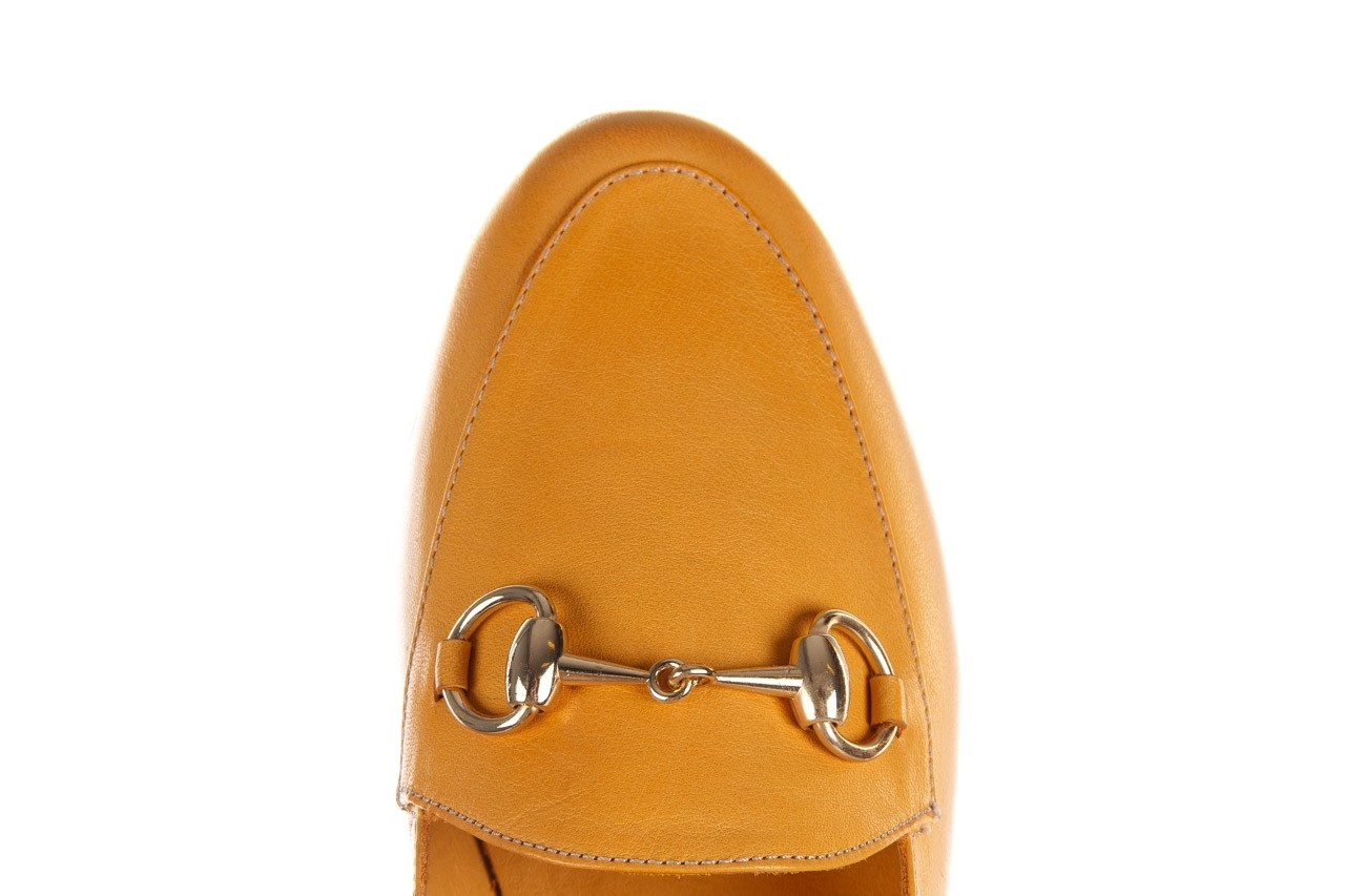 Półbuty bayla-161 138 80127 noce, żółty, skóra naturalna - półbuty - buty damskie - kobieta 13