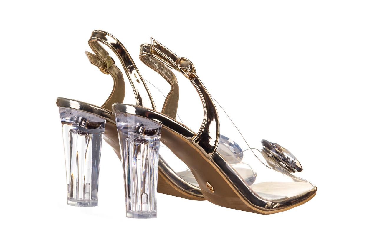 Sandały sca'viola g-17 gold 21 047169, złoty silikon - sca`viola - nasze marki 11