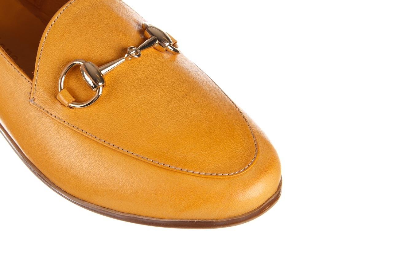 Półbuty bayla-161 138 80127 noce, żółty, skóra naturalna - półbuty - buty damskie - kobieta 14