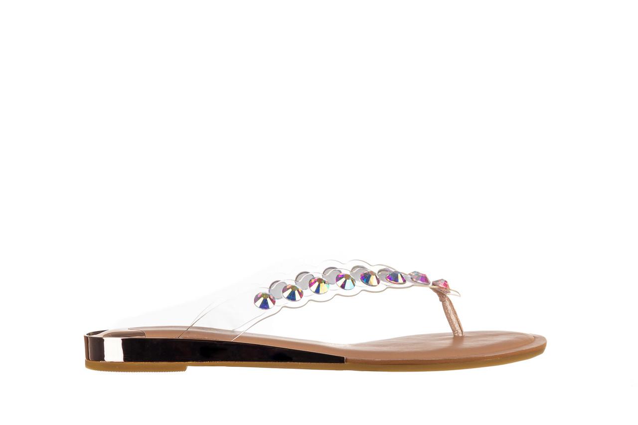 Klapki sca'viola b-174 pink 047167, róż, silikon - klapki - buty damskie - kobieta 8