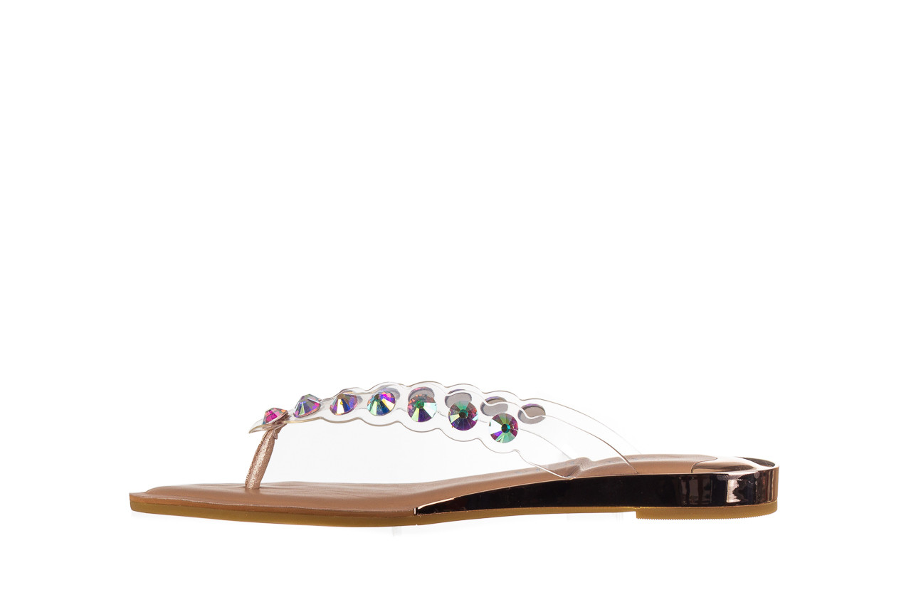 Klapki sca'viola b-174 pink 047167, róż, silikon - klapki - buty damskie - kobieta 10