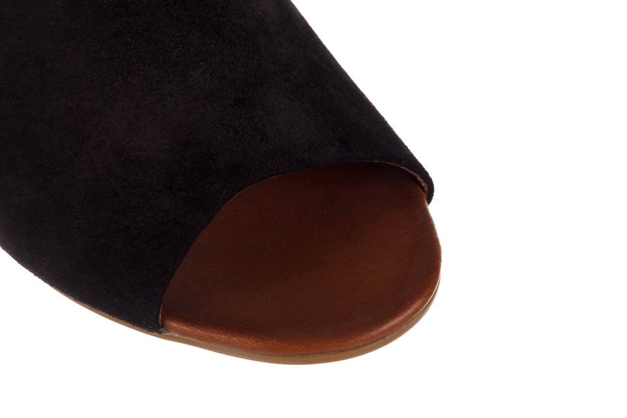 Sandały bayla-161 061 1030 black suede, czarny, skóra naturalna zamszowa - sandały - dla niej  - sale 14