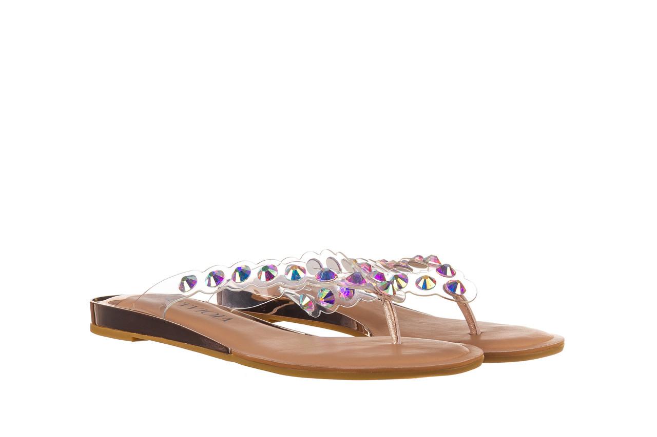 Klapki sca'viola b-174 pink 047167, róż, silikon - klapki - buty damskie - kobieta 9