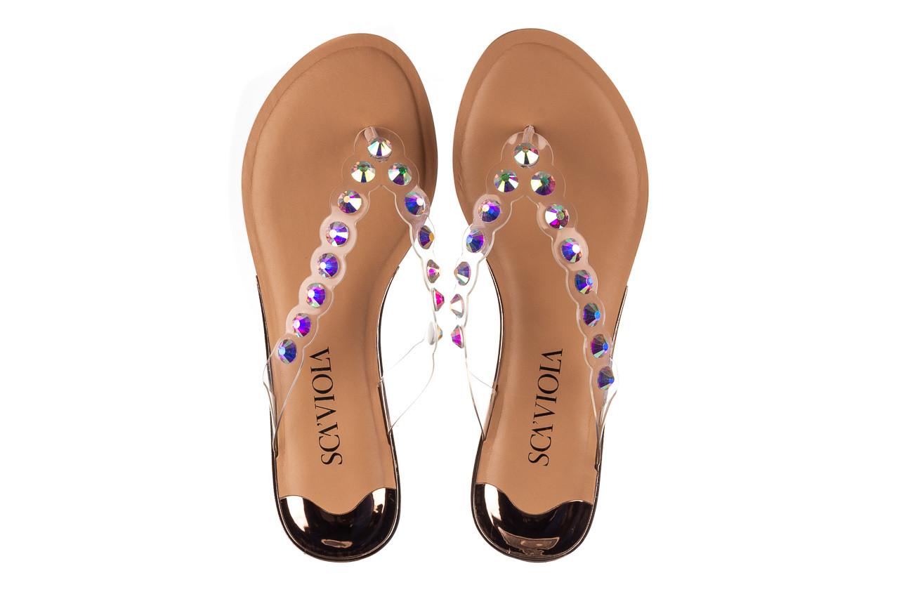 Klapki sca'viola b-174 pink 047167, róż, silikon - klapki - buty damskie - kobieta 12