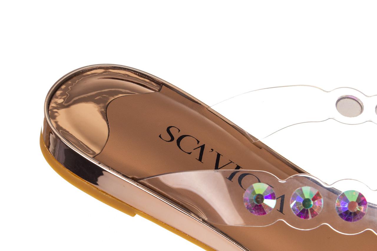 Klapki sca'viola b-174 pink 047167, róż, silikon - klapki - buty damskie - kobieta 15