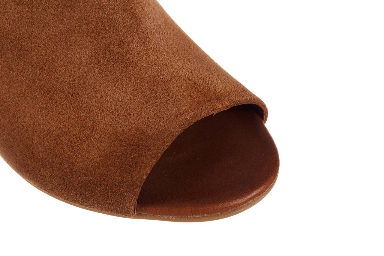 Sandały bayla-161 061 1030 tan suede, brąz, skóra naturalna zamszowa - sandały - dla niej  - sale 14