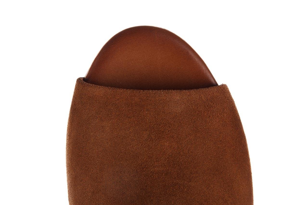 Sandały bayla-161 061 1030 tan suede, brąz, skóra naturalna zamszowa - sandały - dla niej  - sale 13