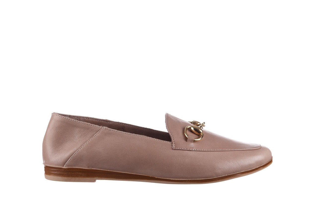 Półbuty bayla-161 138 80127 hat, beż, skóra naturalna - półbuty - buty damskie - kobieta 8