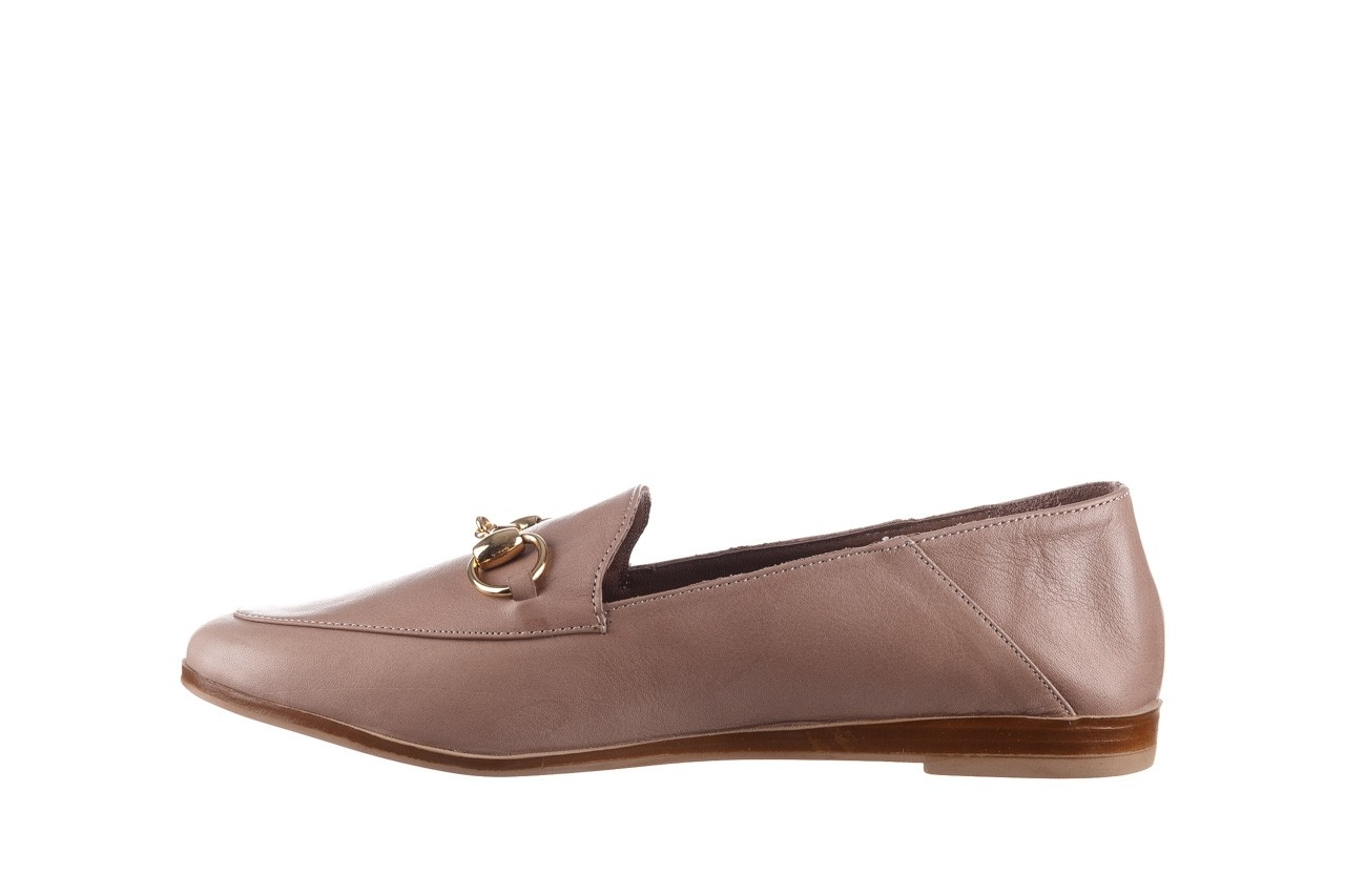Półbuty bayla-161 138 80127 hat, beż, skóra naturalna - półbuty - buty damskie - kobieta 10