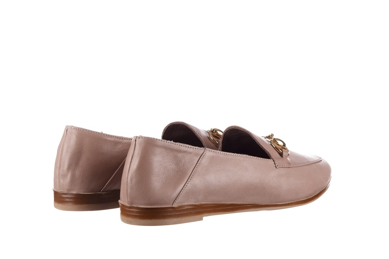 Półbuty bayla-161 138 80127 hat, beż, skóra naturalna - półbuty - buty damskie - kobieta 11