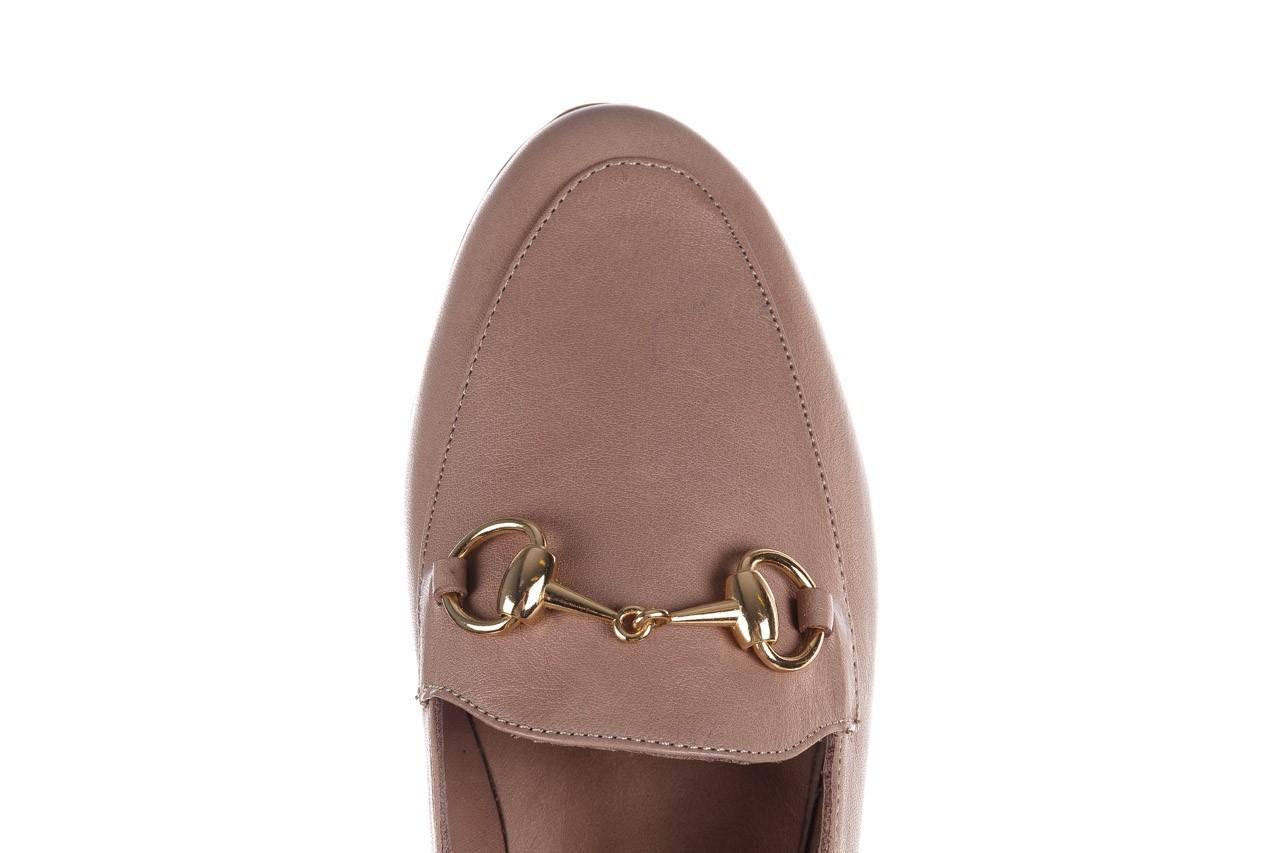 Półbuty bayla-161 138 80127 hat, beż, skóra naturalna - półbuty - buty damskie - kobieta 13