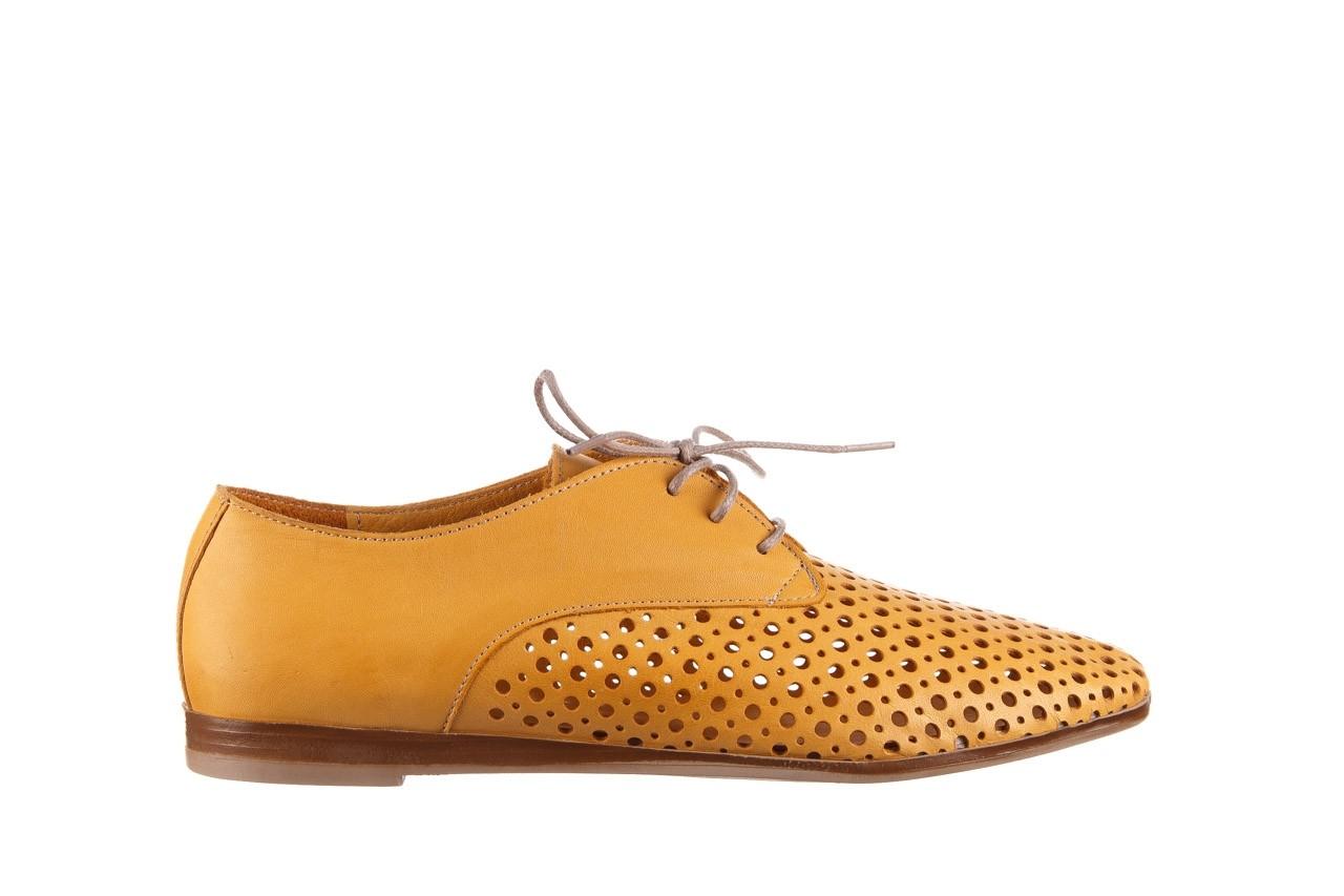 Półbuty bayla-161 138 80129 noce, żółty, skóra naturalna - półbuty - buty damskie - kobieta 8