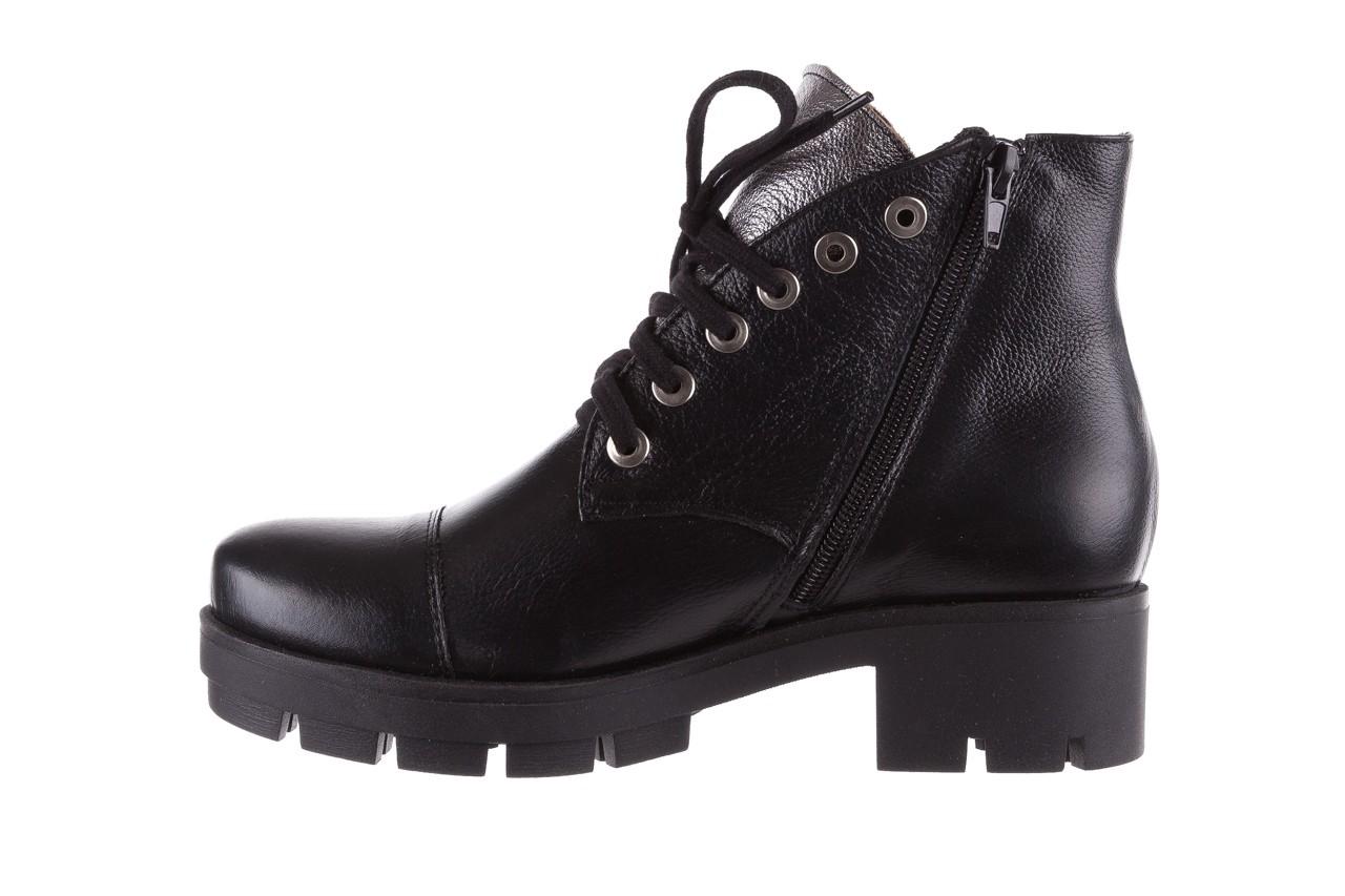 Trzewiki bayla-076 1805 czarne trzewiki, skóra naturalna - trzewiki - buty damskie - kobieta 10