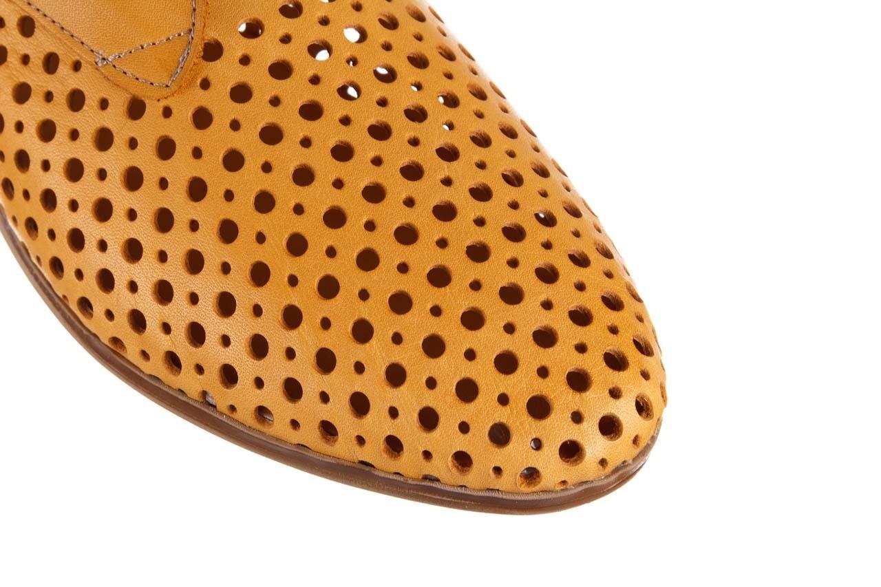 Półbuty bayla-161 138 80129 noce, żółty, skóra naturalna - skórzane - półbuty - buty damskie - kobieta 14
