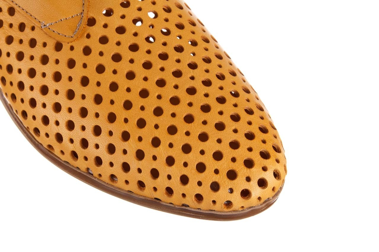 Półbuty bayla-161 138 80129 noce, żółty, skóra naturalna - półbuty - buty damskie - kobieta 14
