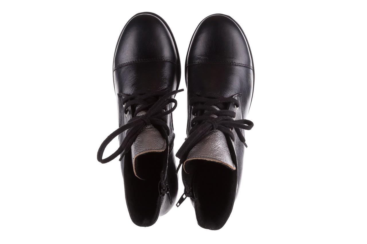 Trzewiki bayla-076 1805 czarne trzewiki, skóra naturalna - trzewiki - buty damskie - kobieta 12