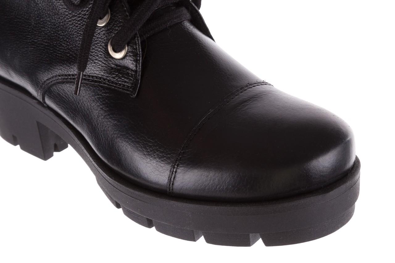 Trzewiki bayla-076 1805 czarne trzewiki, skóra naturalna - trzewiki - buty damskie - kobieta 15