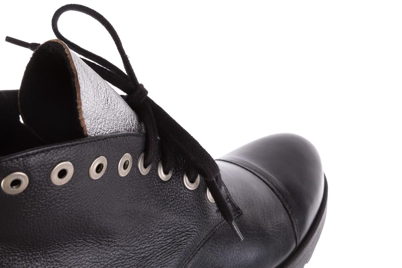 Trzewiki bayla-076 1805 czarne trzewiki, skóra naturalna - trzewiki - buty damskie - kobieta 13