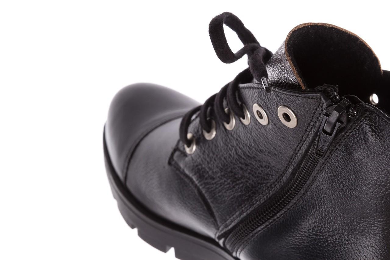 Trzewiki bayla-076 1805 czarne trzewiki, skóra naturalna - trzewiki - buty damskie - kobieta 14