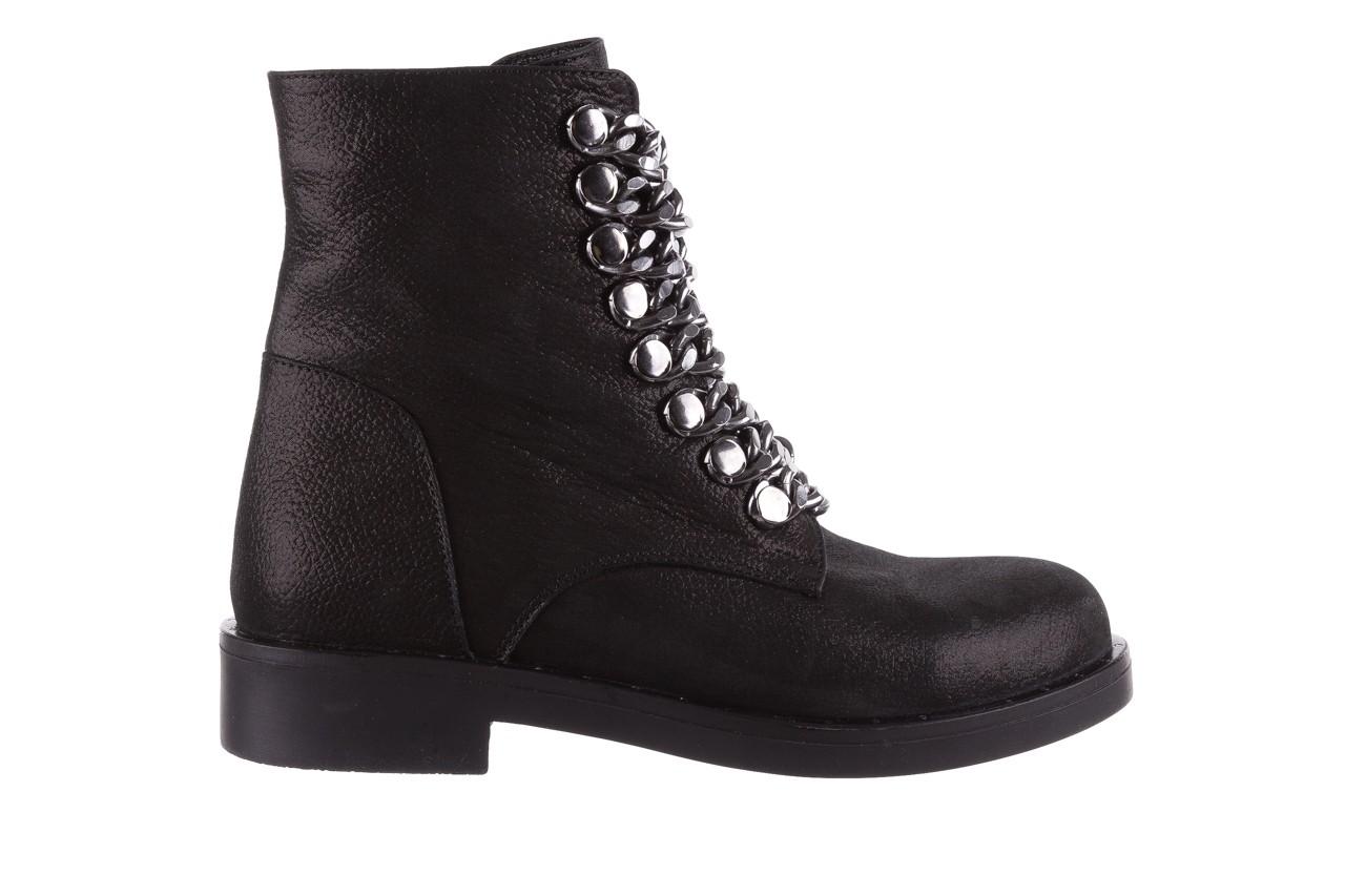 Trzewiki bayla-112 0460-802 czarne, skóra naturalna - trzewiki - buty damskie - kobieta 8