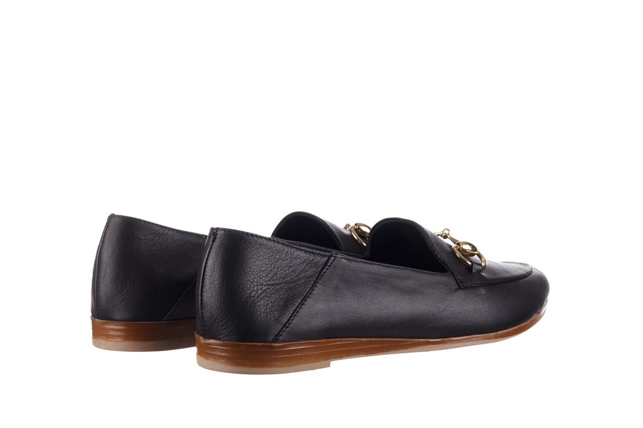 Półbuty bayla-161 138 80127 black, czarny, skóra naturalna - półbuty - buty damskie - kobieta 11