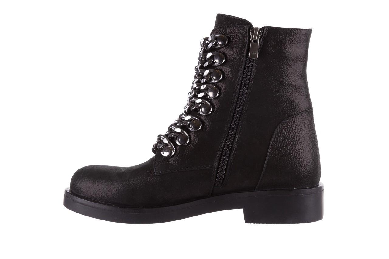 Trzewiki bayla-112 0460-802 czarne, skóra naturalna - trzewiki - buty damskie - kobieta 10