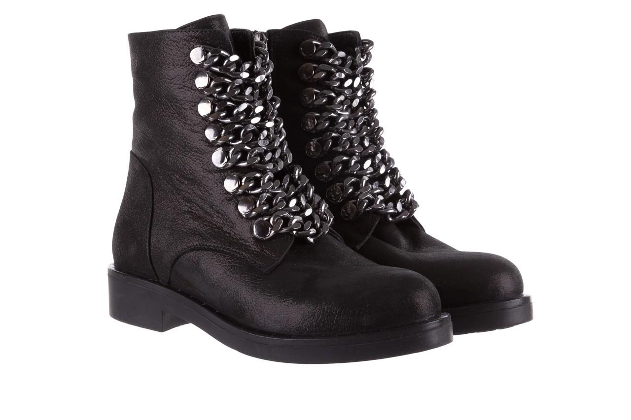 Trzewiki bayla-112 0460-802 czarne, skóra naturalna - trzewiki - buty damskie - kobieta 9