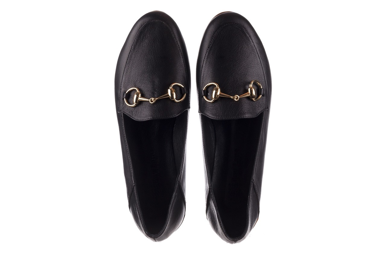 Półbuty bayla-161 138 80127 black, czarny, skóra naturalna - półbuty - buty damskie - kobieta 12