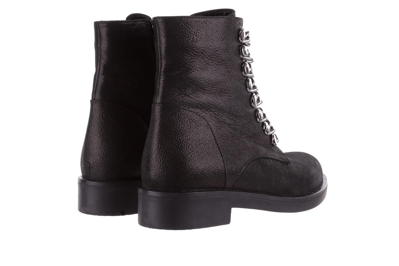 Trzewiki bayla-112 0460-802 czarne, skóra naturalna - trzewiki - buty damskie - kobieta 11