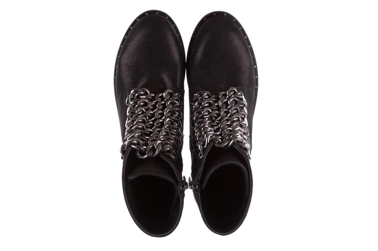 Trzewiki bayla-112 0460-802 czarne, skóra naturalna - trzewiki - buty damskie - kobieta 12