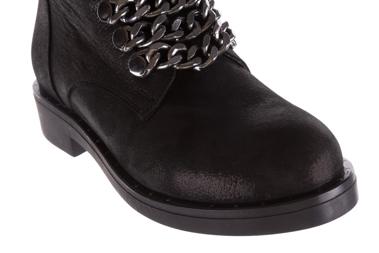 Trzewiki bayla-112 0460-802 czarne, skóra naturalna - trzewiki - buty damskie - kobieta 14
