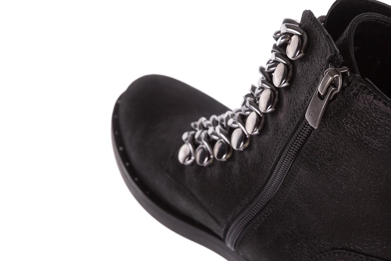 Trzewiki bayla-112 0460-802 czarne, skóra naturalna - trzewiki - buty damskie - kobieta 15