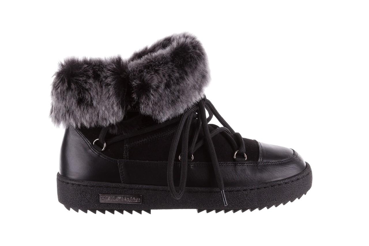 Śniegowce bayla-112 0575-9013s czarne śniegowce, skóra naturalna  - śniegowce i kalosze - dla niej  - sale 8