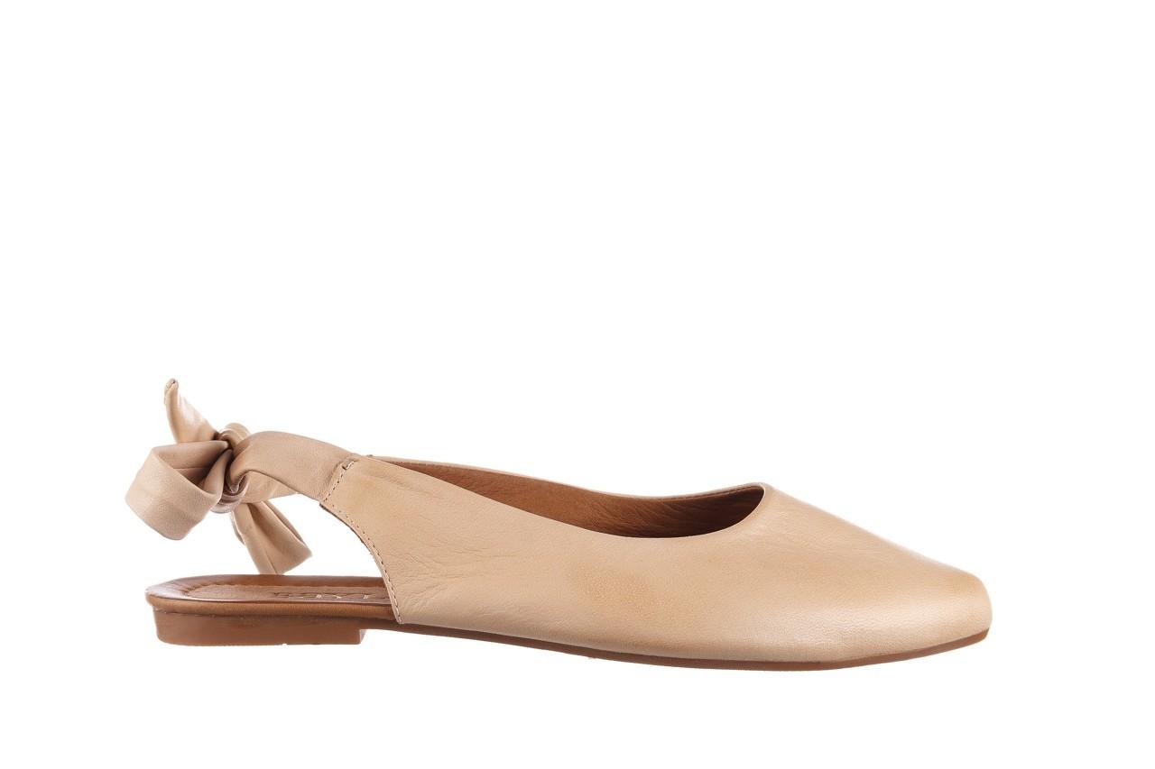 Sandały bayla-161 066 504 277 beige, beż, skóra naturalna  - płaskie - sandały - buty damskie - kobieta 8