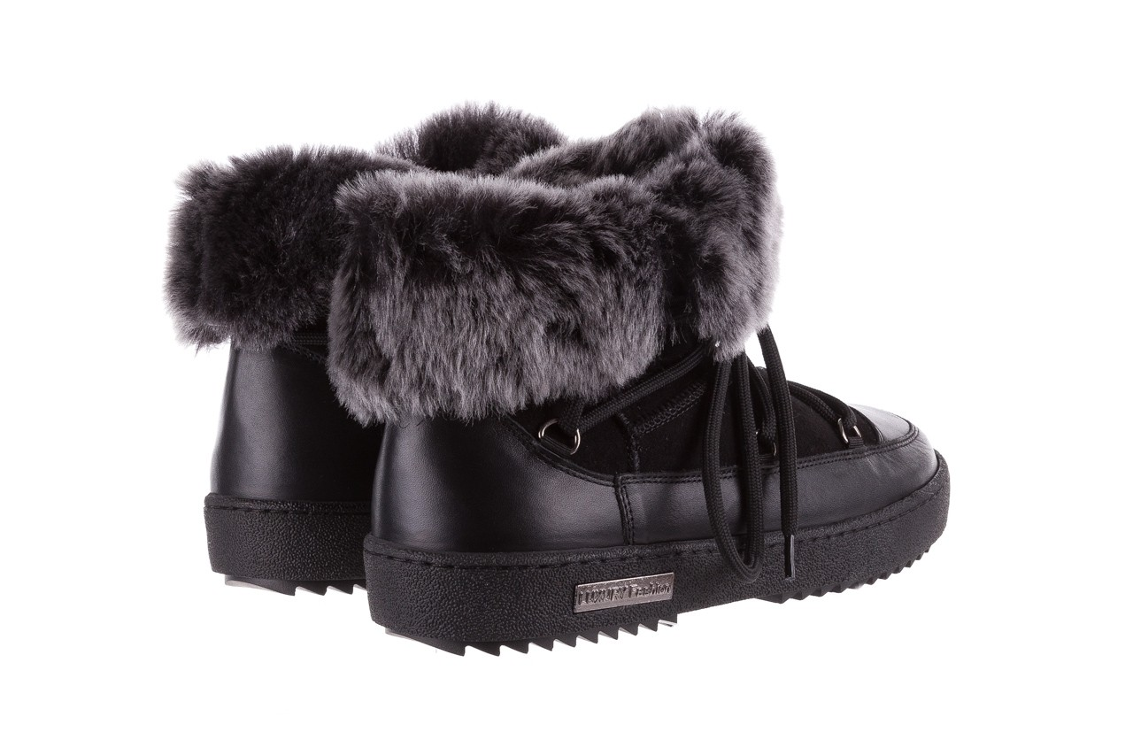 Śniegowce bayla-112 0575-9013s czarne śniegowce, skóra naturalna  - bayla - nasze marki 11