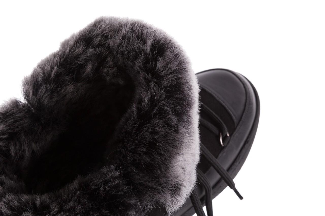 Śniegowce bayla-112 0575-9013s czarne śniegowce, skóra naturalna  - śniegowce i kalosze - dla niej  - sale 14