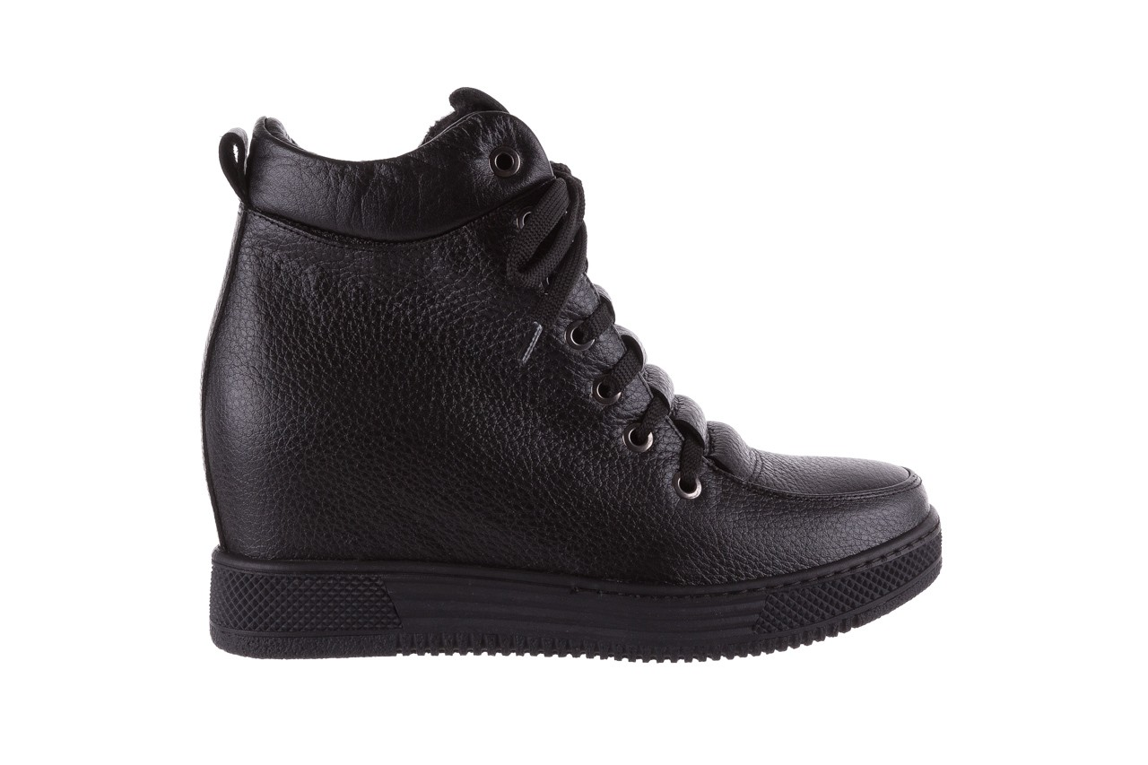 Sneakresy bayla-112 0235-io-20 czarne sneakersy, skóra naturalna  - bayla - nasze marki 7