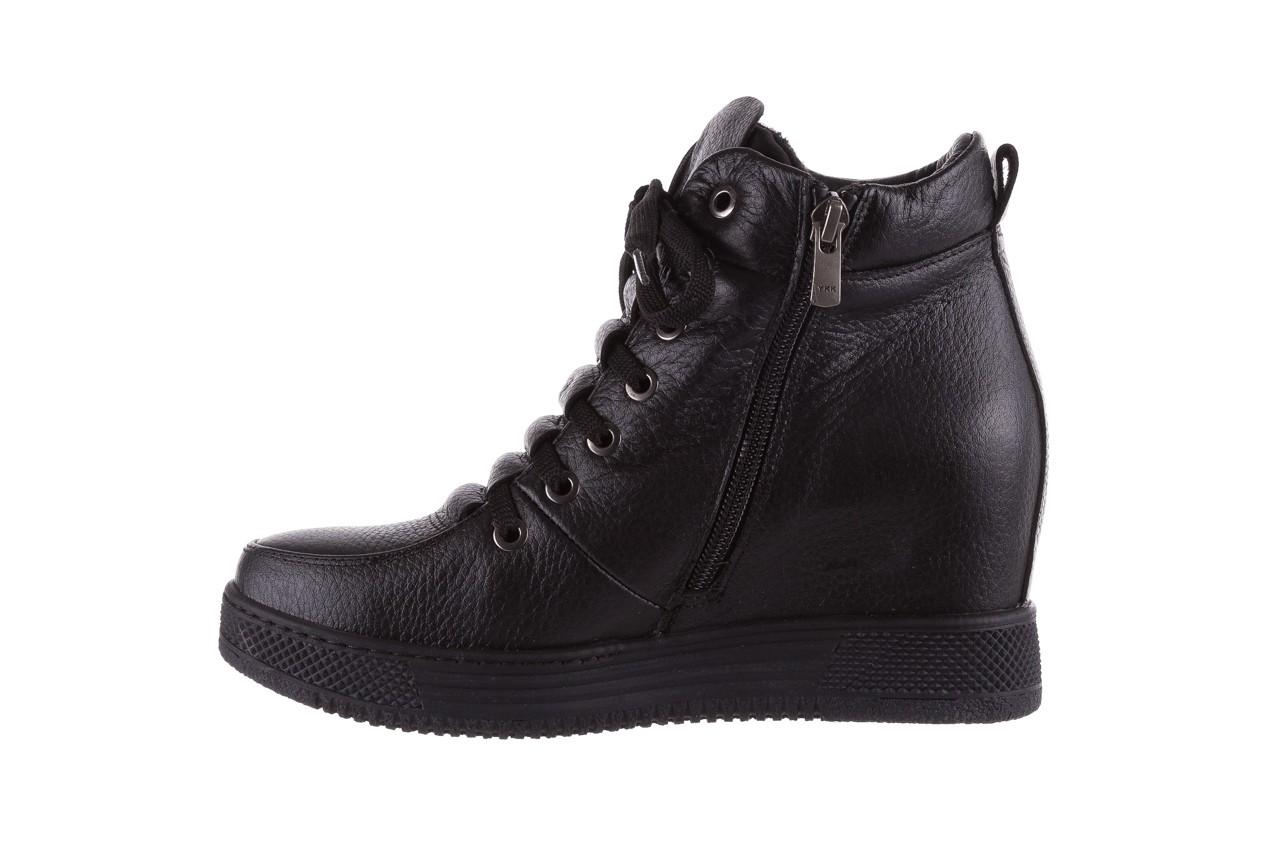 Sneakresy bayla-112 0235-io-20 czarne sneakersy, skóra naturalna  - bayla - nasze marki 9