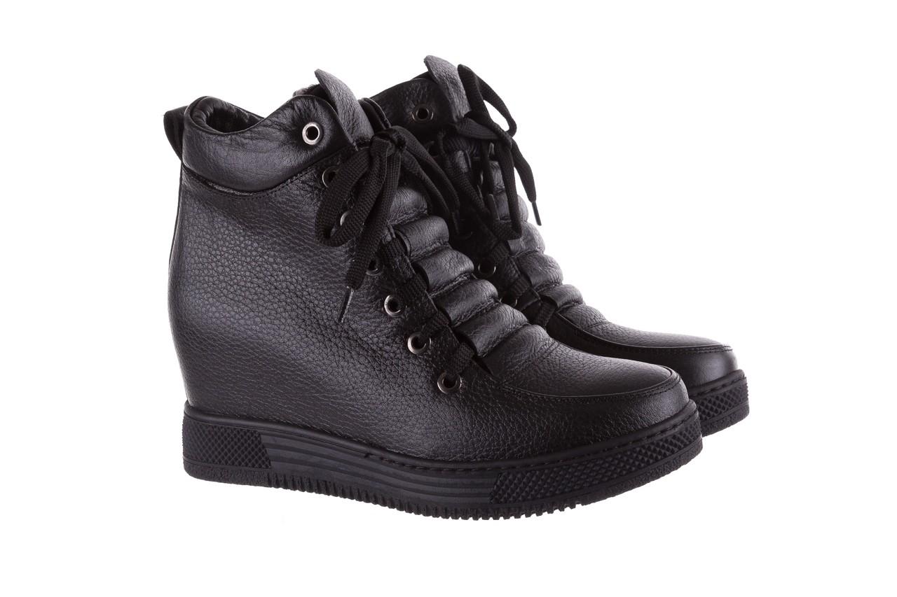 Sneakresy bayla-112 0235-io-20 czarne sneakersy, skóra naturalna  - bayla - nasze marki 8