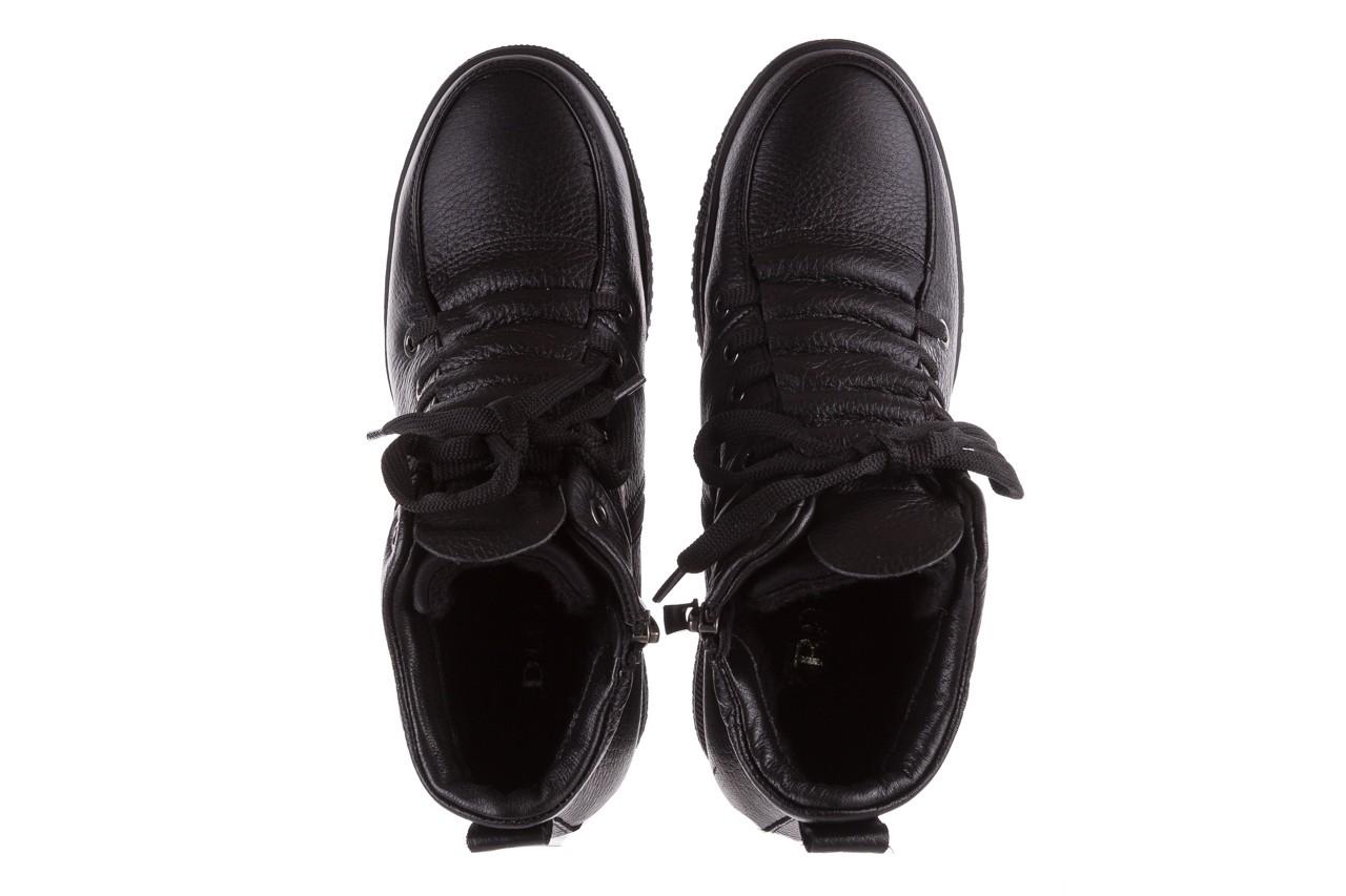 Sneakresy bayla-112 0235-io-20 czarne sneakersy, skóra naturalna  - bayla - nasze marki 11